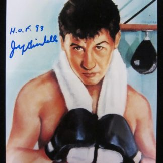 Hall of Fame Boxer Joey Giardello Autographed Photo