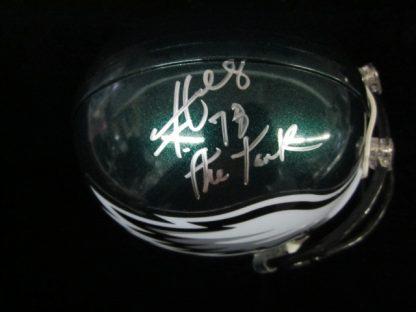 Philadelphia Eagles Hollis Thomas Autographed Mini Helmet