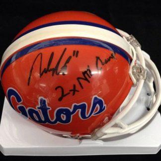 Florida Gators Riley Cooper Autographed Mini Helmet