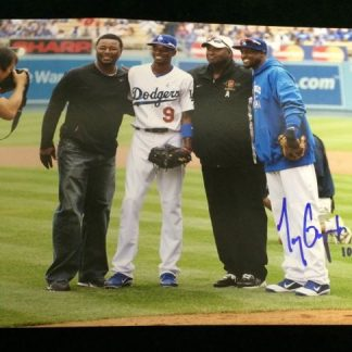 Los Angeles Dodgers Tony Gwynn Jr. Autographed Photo
