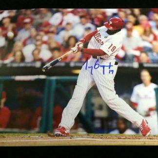 Philadelphia Phillies Tony Gwynn Jr. Autographed Photo