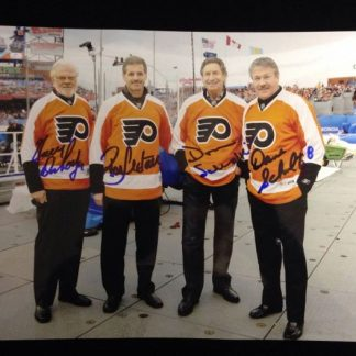 Philadelphia Flyers 2012 Winter Classic Ambassadors Autographed Photo