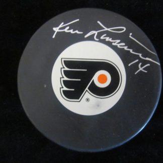 Philadelphia Flyers Ken Linseman Autographed Puck