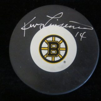 Boston Bruins Ken Linseman Autographed Puck
