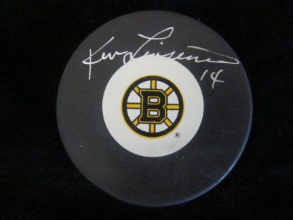 Boston Bruins Ken Linseman Autographed Puck