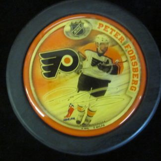 Philadelphia Flyers Peter Forsberg Puck