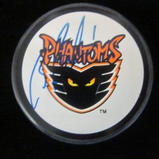 Philadelphia Phantoms Brian Boucher Autographed Puck