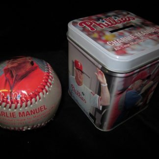 Philadelphia Phillies Charlie Manuel Commerative Ball/Tin