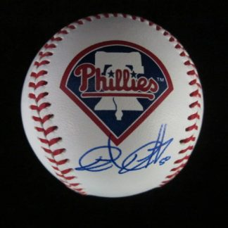 Philadelphia Phillies Chad Qualls Autographed Baseball