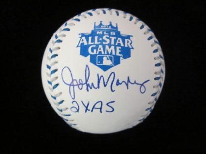 Kansas City Royals John Mayberry Autographed Baseball