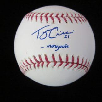 Future Phillies Tyson Gillies Autographed Baseball