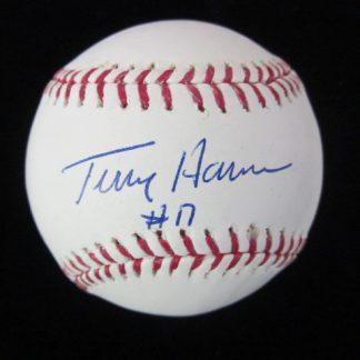 Philadelphia Phillies Terry Harmon Autographed Baseball
