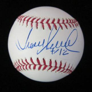 Philadelphia Phillies Juan Samuel Autographed Baseball