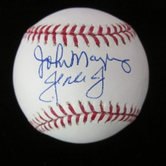 Father/Son John Mayberry Sr. & Jr. Autographed Baseball