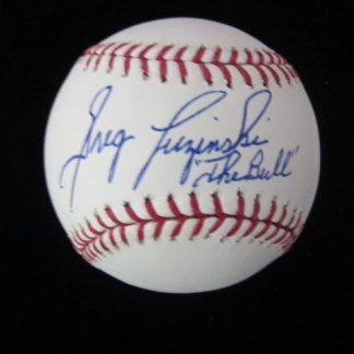 Philadelphia Phillies Greg Luzinski Autographed Baseball