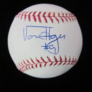 Philadelphia Phillies Von Hayes Autographed Baseball